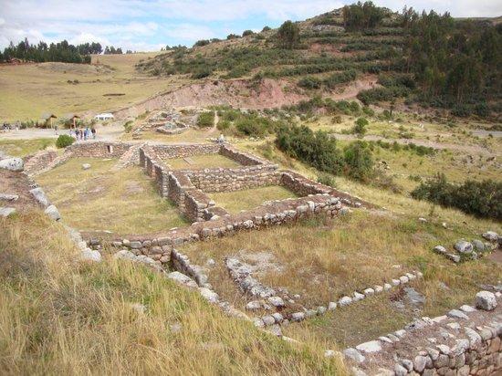 Puka Pukara: vista de la fortaleza