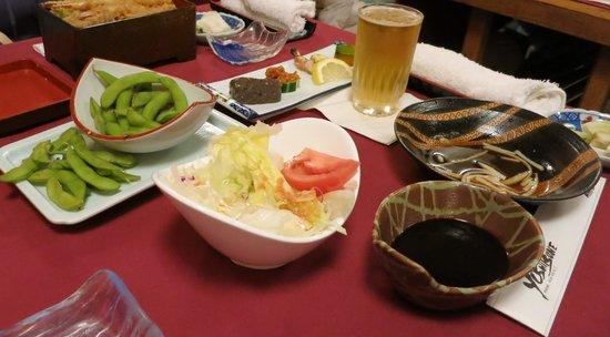 Yoshitsune Restaurant: 夕食