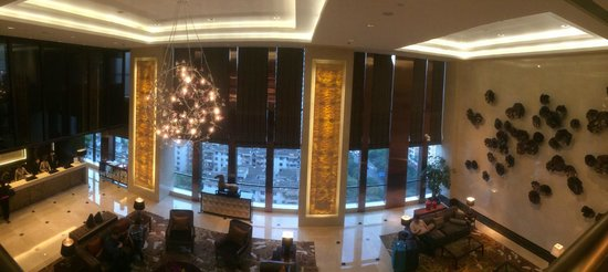 Oakwood Premier Guangzhou : Reception and Lobby