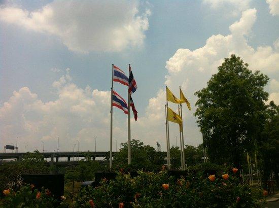 Novotel Bangkok Suvarnabhumi Airport: Beautiful Sky, Love the Colours.