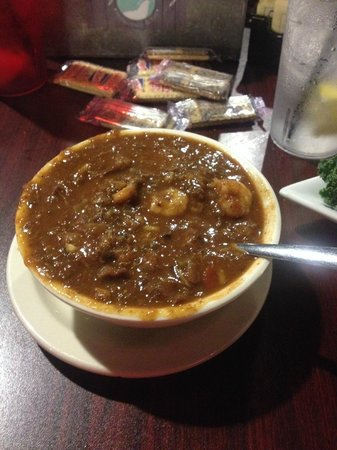 Wolf Bay Lodge: The BEST Gumbo EVER