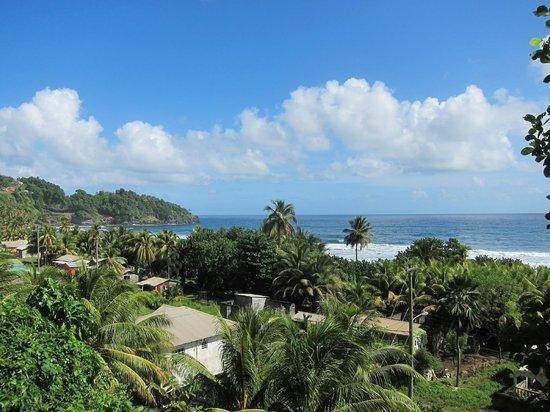 Paradise Beach Hotel : St Vincent view