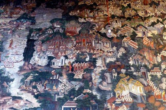 Wat Suthat - Wall Murals