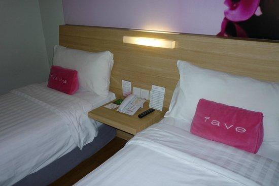 favehotel Pasar Baru: Twin beds