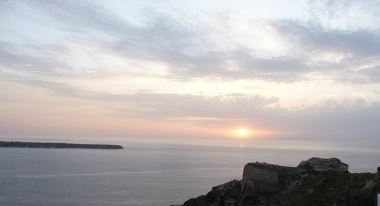 Sunset from Oia Mare Villas