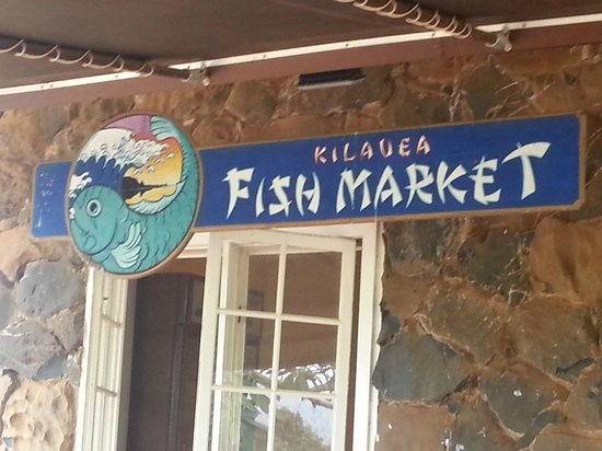 Kilauea Fish Market: J aime