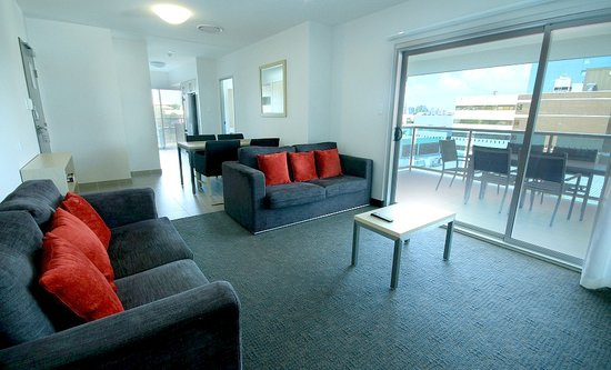 Jephson Hotel: 3 bedroom apartment- very spacious