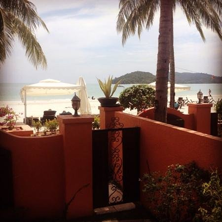 Casa del Mar, Langkawi: view from our beachfront suite
