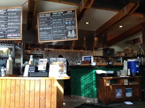 The Shwack Beach Grill: inside