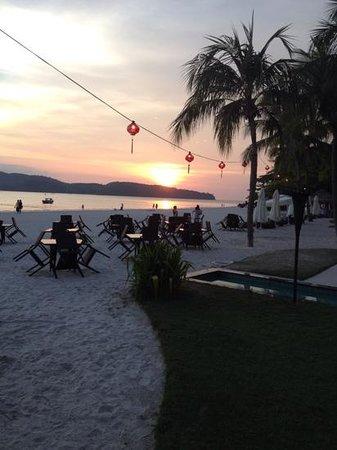 Casa del Mar, Langkawi: sunset