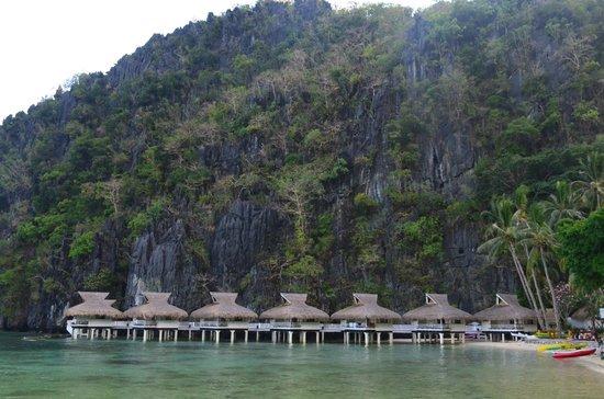 El Nido Resorts Miniloc Island: resort view upon arrival