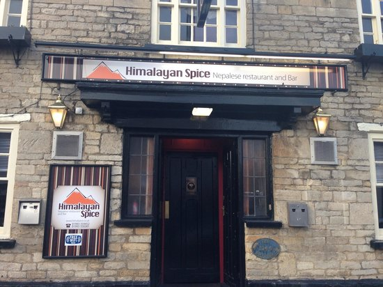 Himalayan Spice: Outside this lovely curry house