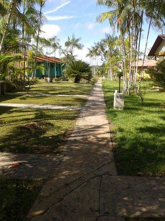 Hotel Iracema Falls: Vista dos apartamentos próximos à piscina/área recreativa