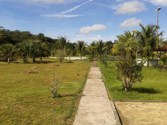 Hotel Iracema Falls: Vista da área recreativa