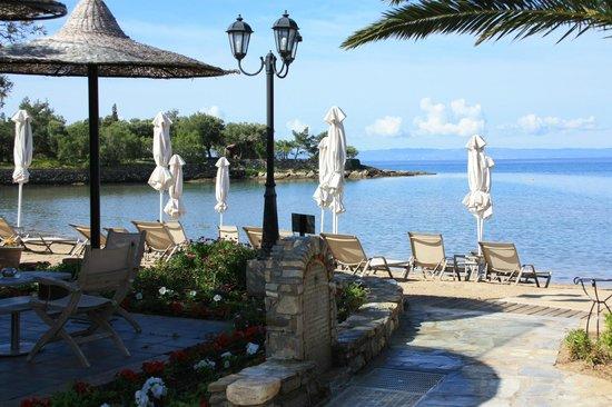 Anthemus Sea Beach Hotel & Spa: Пляж