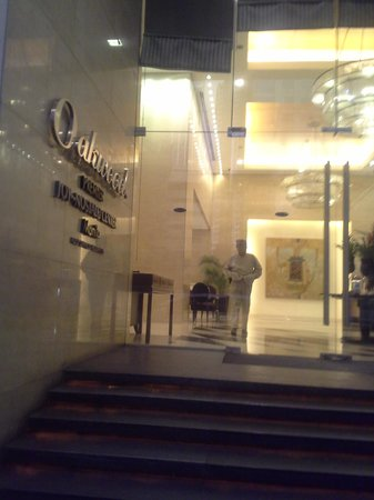 Oakwood Premier Joy - Nostalg Center Manila : The MAIN Entrance