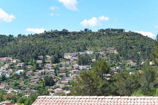 Résidence Le Galoubet : La vue que l'on avait sur notre terrasse.