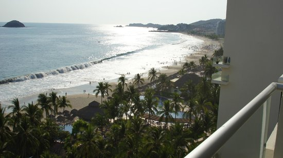 Sunscape Dorado Pacifico Ixtapa: View from one of our balconies