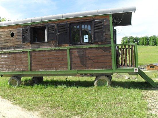 Domaine d'Escapa : Notre roulotte