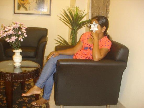 Hotel Madhav International : Room interiors