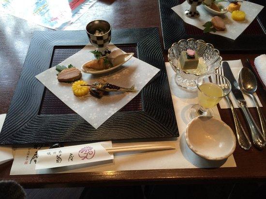 Kikuya : 夕食