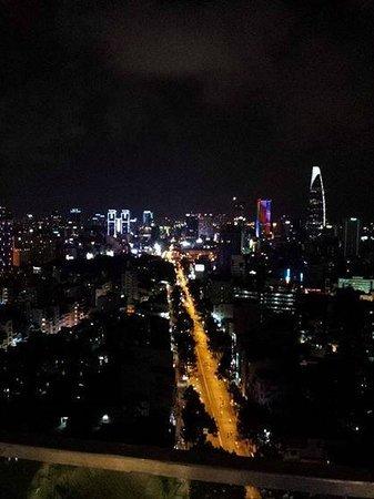 Pullman Saigon Centre Hotel : View from the restaurant
