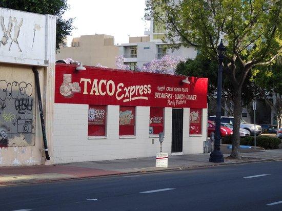 Taco Express: Außenansicht