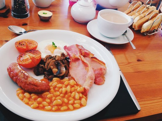 Castle Hill Guest House: Full English Breakfast was simply amazing. Best way to start the day!