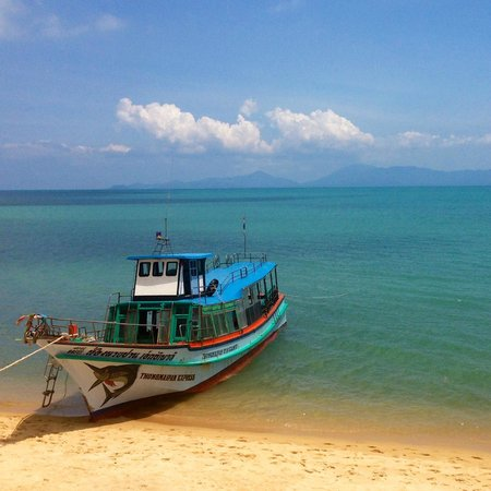 The Sanctuary Thailand: Get there on the Thong Nai Pan ferry from the beach (not pier!)