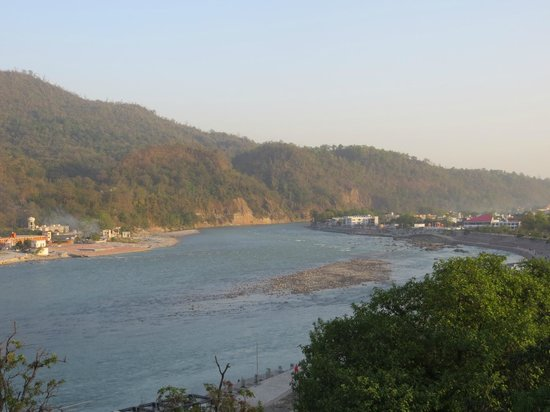 Hotel Great Ganga: View from the hotel terrace