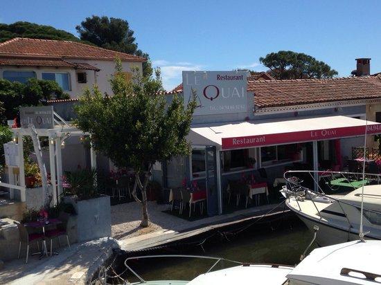 Hyères, Francia: Restaurant le Quai port de l Ayguade