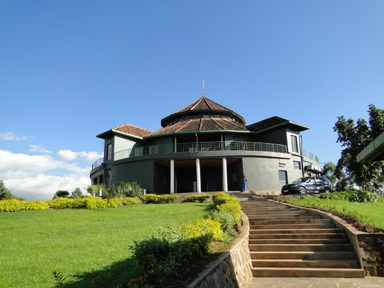 Nyungwe Top View Hill Hotel: Main house