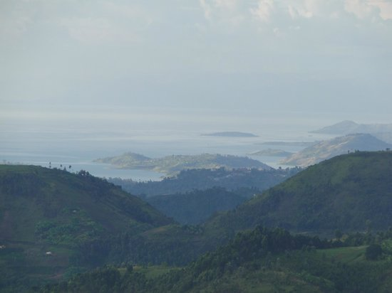 Nyungwe Top View Hill Hotel : View of Lake Kivu
