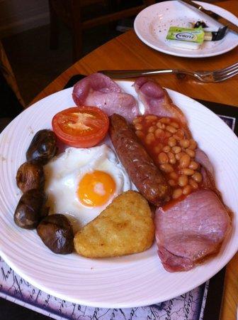 Bronte Guest House : Full Bronte breakfast
