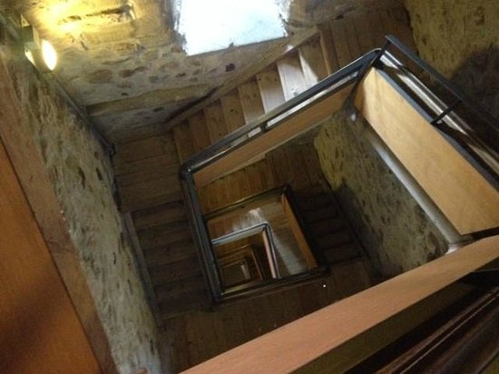Dreifaltigkeitskirche : From the top of the narrow wooden steps leading to the top