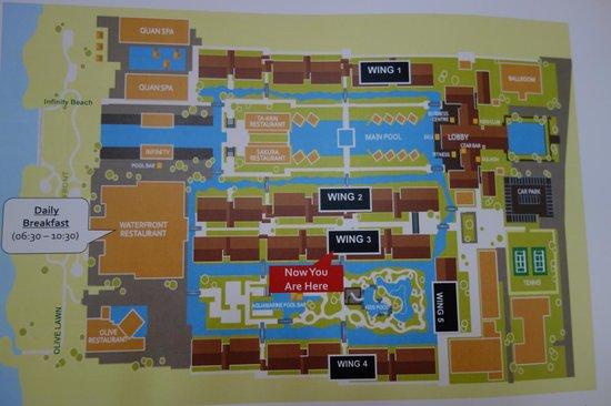 Khuk Khak, تايلاند: the pool map