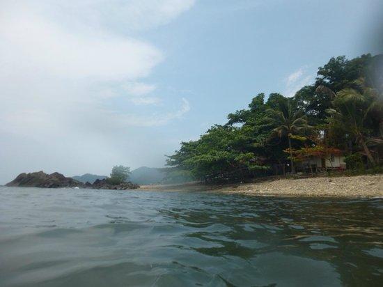 Paradise Palms Resort: The quiet beach