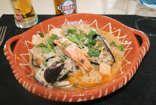 Pedra Da Estrala: riz de la mer facon rizotto