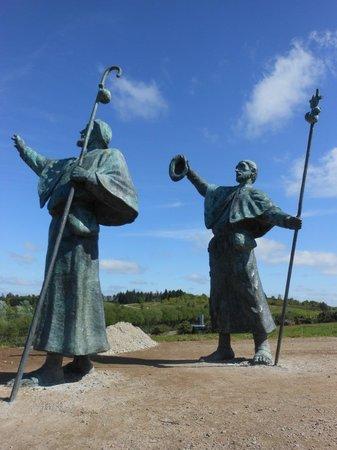 Monte do Gozo: Monumento ai pellegrini