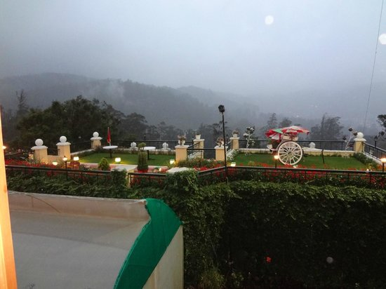 Gem Park-Ooty: View from my hotel room