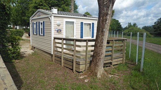 Camping la Presqu'île de Champaubert : Les mobile home cottage nignt 2 personnes (sans télé)