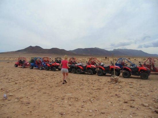 SBH Club Paraiso Playa: excursion quad à morro jable
