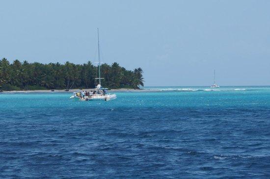 Iberostar Hacienda Dominicus: ile de saona en catamaran