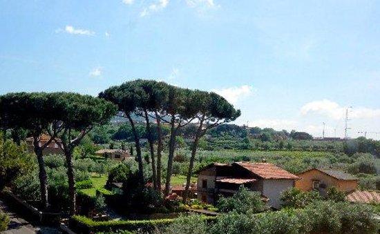 Green Hotel Poggio Regillo: View From Our Suite