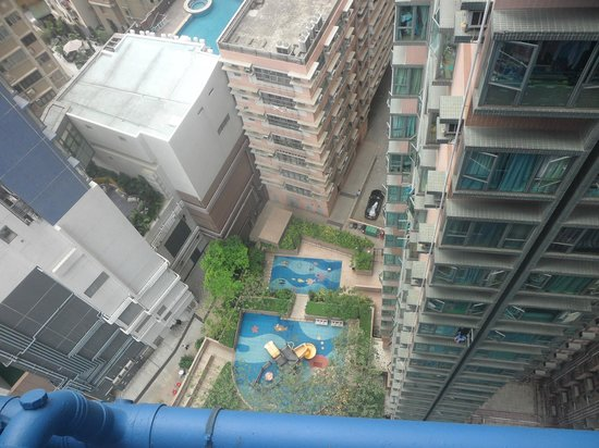 Hotel LBP: Looking out from the 18th floor