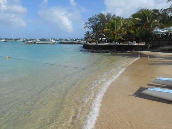 Veranda Grand Baie Hotel & Spa: plage