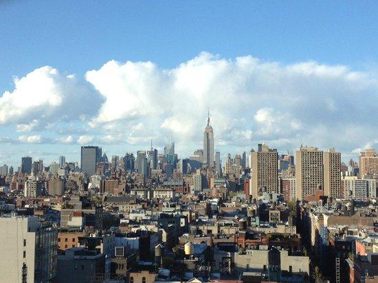 Sheraton Tribeca New York Hotel: Club Lounge Terrace