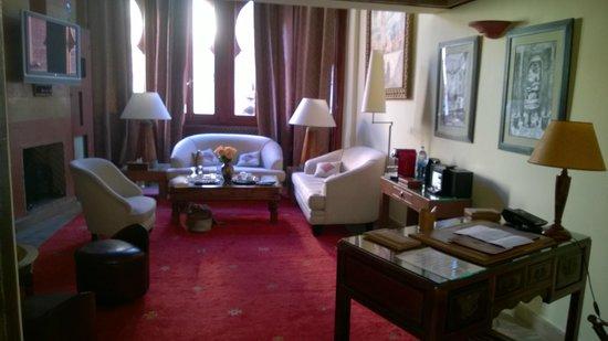 le salon de la suite - Picture of La Maison Arabe, Marrakech ...