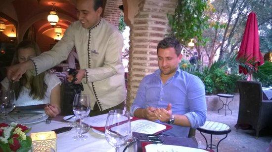 La Maison Arabe: le service d'un restaurant étoilé + le sourire !