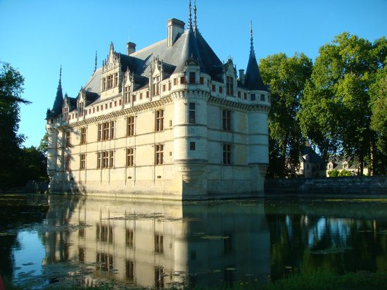 picture of chateau of azay le rideau. Black Bedroom Furniture Sets. Home Design Ideas
